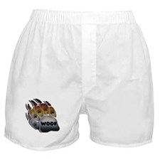 wOOF FURRY BEAR PRIDE PAW Boxer Shorts
