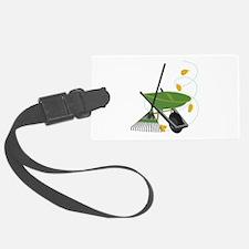 Wheelbarrow & Rake Luggage Tag