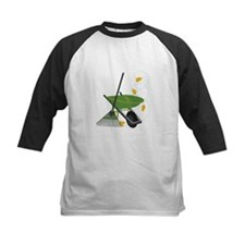 Wheelbarrow & Rake Baseball Jersey