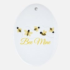 Bee Mine Ornament (Oval)