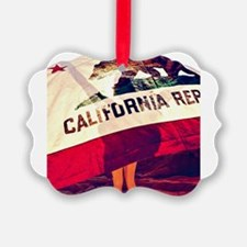 California Republic Ornament