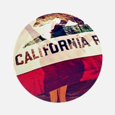 California Republic Ornament (Round)