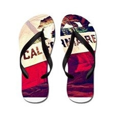 California Republic Flip Flops
