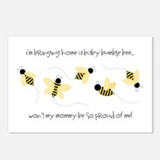 Baby Bumble Bee Postcards (Package of 8)