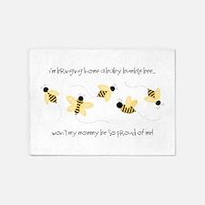 Baby Bumble Bee 5'x7'Area Rug