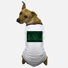 Canna Heartbeat Dog T-Shirt