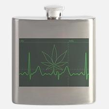 Canna Heartbeat Flask