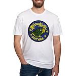 USS HAWKBILL Fitted T-Shirt