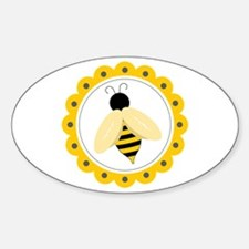 Bumble Bee Circle Decal