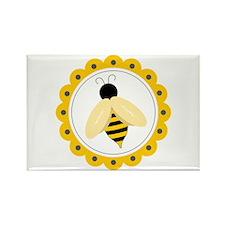 Bumble Bee Circle Magnets