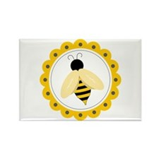 Bumble Bee Circle Magnets