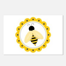 Bumble Bee Circle Postcards (Package of 8)
