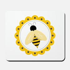 Bumble Bee Circle Mousepad
