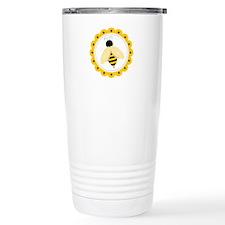 Bumble Bee Circle Travel Mug