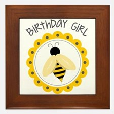 Birthday Girl Framed Tile