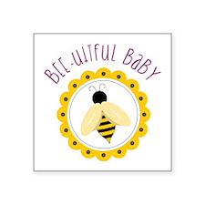 Bee-utiful Baby Sticker