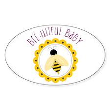 Bee-utiful Baby Decal