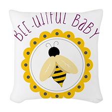 Bee-utiful Baby Woven Throw Pillow
