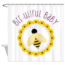 Bee-utiful Baby Shower Curtain