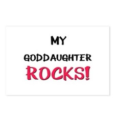 My GODDAUGHTER ROCKS! Postcards (Package of 8)