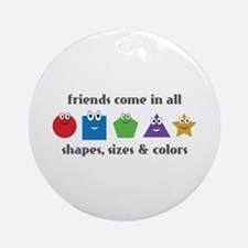 Learning Friends Ornament (Round)