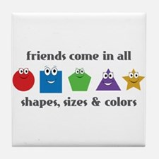 Learning Friends Tile Coaster