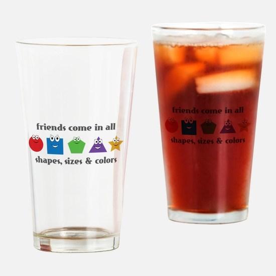 Learning Friends Drinking Glass