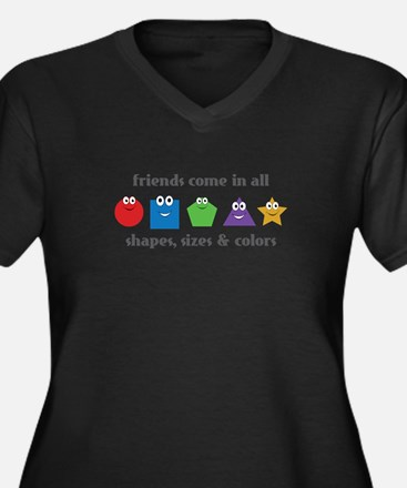 Learning Friends Plus Size T-Shirt