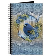 Bluebird Rose Ice And Lace Effect Design Journal