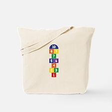 Hopscotch Game Tote Bag