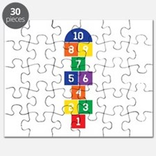 Hopscotch Game Puzzle
