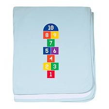 Hopscotch Game baby blanket