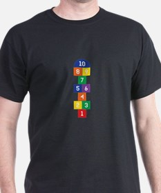 Hopscotch Game T-Shirt