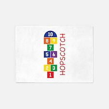 Hopscotch Play 5'x7'Area Rug