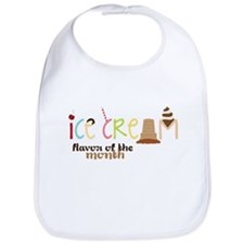 Ice cream Flavor Of The Month Bib