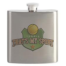 tennis - that's my sport Flask