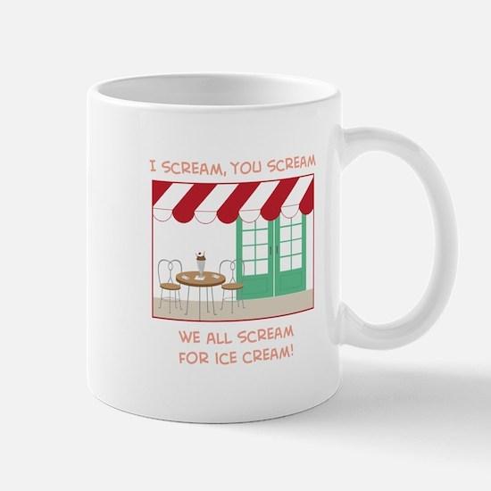 I Scream,You Scream We All Scream For Ice Cream! M