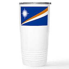 Marshall Islands Flag Travel Mug