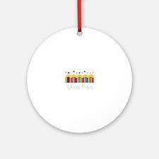 School Days Ornament (Round)