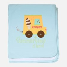 Summer Time Is Here! baby blanket
