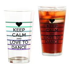 Dance lovers Drinking Glass
