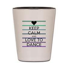 Dance lovers Shot Glass