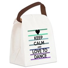 Dance lovers Canvas Lunch Bag