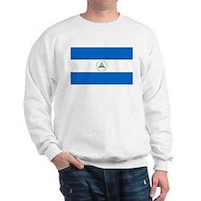 Nicaragua Flag Sweatshirt