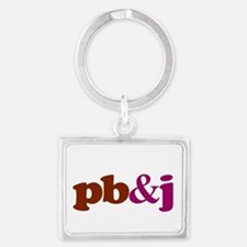 pb and j Keychains
