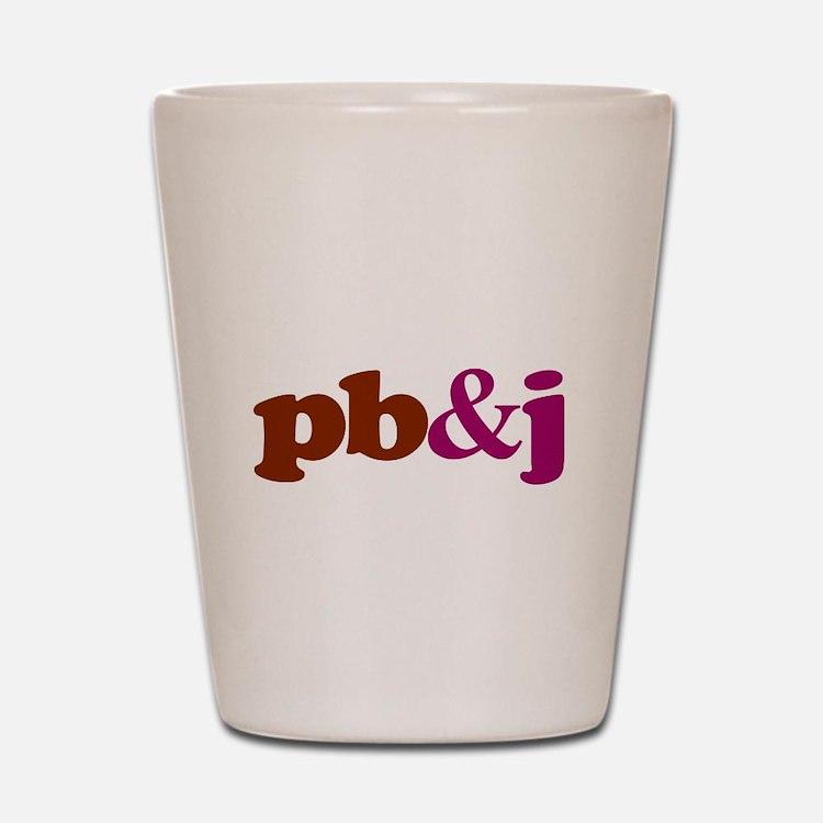 pb and j Shot Glass