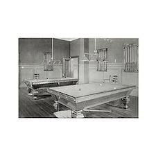 Billiards Room, 1901 Magnets