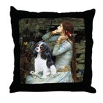 Opohelia & Tri Cavalier Throw Pillow