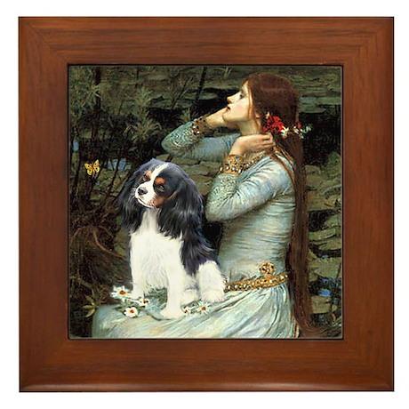 Opohelia & Tri Cavalier Framed Tile