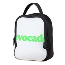avocado Neoprene Lunch Bag